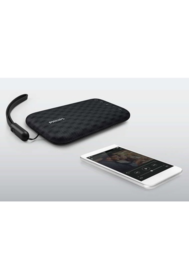 Philips BT3900W/00 Taşınabilir Kablosuz Bluetooth Hoparlör Siyah